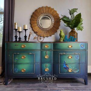 Redesign - Decoratietransfer - Peacock Dreams