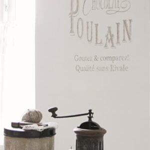 Stencil- Chocolat Poulain 50 x 39 CM