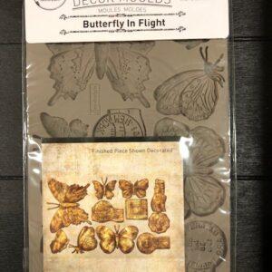 Re-design- Decor moulds - Butterfly in Flight-vlinders
