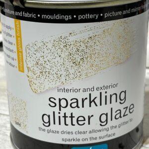 Polyvine glittervernis Goud