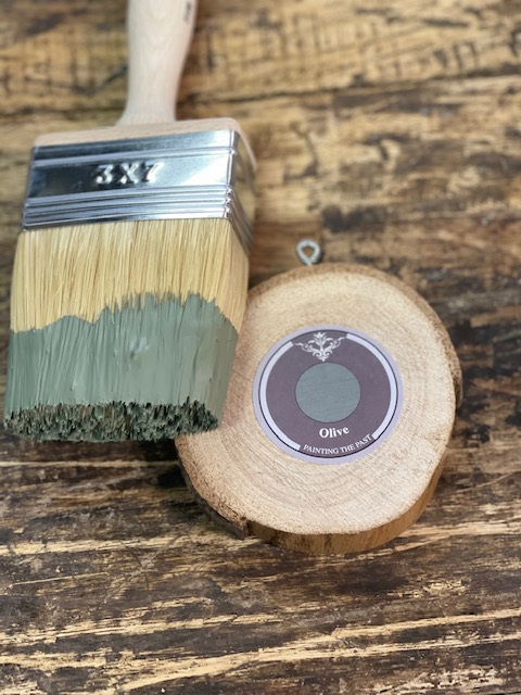 Painting the Past - Outdoor verf- Olive
