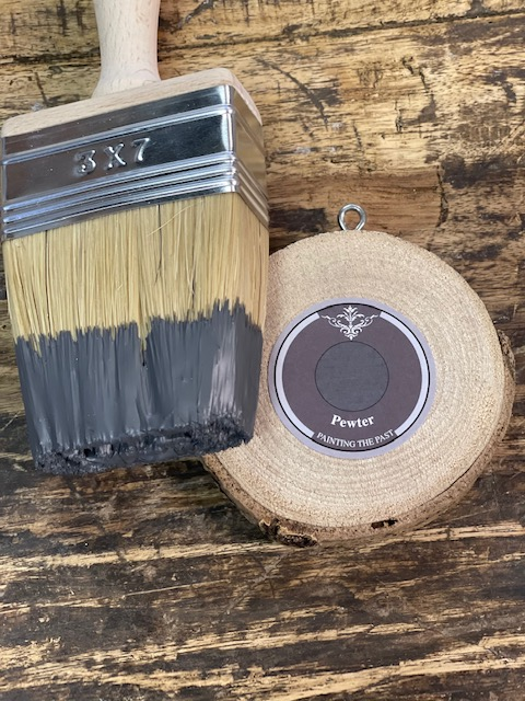 Painting the Past - Outdoor verf- Pewter