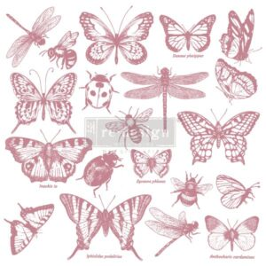 Re-Design - Decoratie stempel -Monarch Collection