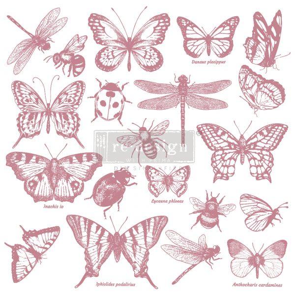 Re-Design - Decoratie stempel -Monarch Collection