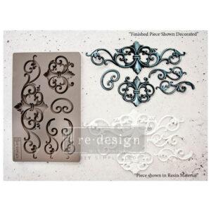 Re-Design-Decor Moulds-Tillden Flourish