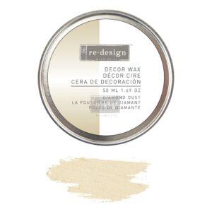 Redesign- Decor Wax - Diamant Dust- 50 ml