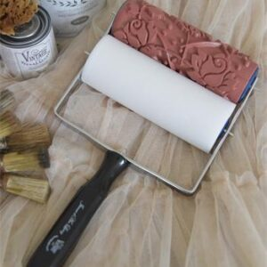 Vintage paint- Patroon roller-Rose Pattern