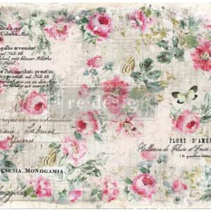 Decoupage papier vn Redesign- Floral Wallpaper