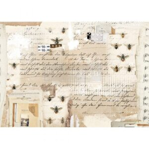 Decoupage papier van Redesign- Mysterious Notes