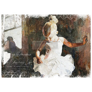 Decoupage textiel van Redesign - Dancer
