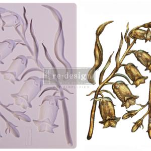 Redesign - Decoratie mal - Sweet Bell Flower