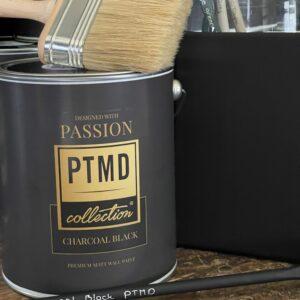 PTMD Verf - Charcoal Black