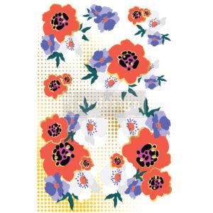 Redesign - Decoratietransfer - CECE Modernist Floral