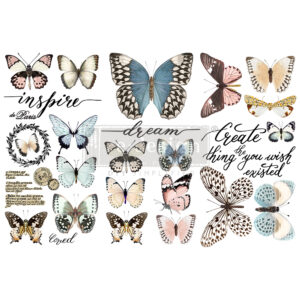 Redesign - Decoratietransfer - Papillon Collection