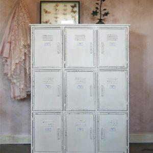 Industriële Witte Lockerkast - Witte kast
